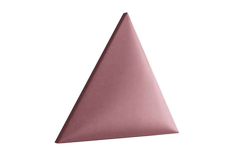 Väggpanel Sharnel Stoppad Triangelformad - Rosa - Inredning - Dekoration - Inredningsdetaljer