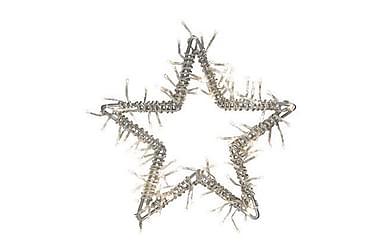 Dekorationsbelysning Stjärna Nina Silver