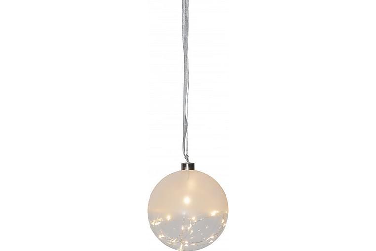 Glask.Glow15cmSnöLV - Inredning - Dekoration - Julpynt & juldekoration