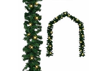 Julkrans med LED-lampor 10 m