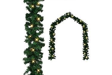Julkrans med LED-lampor 20 m