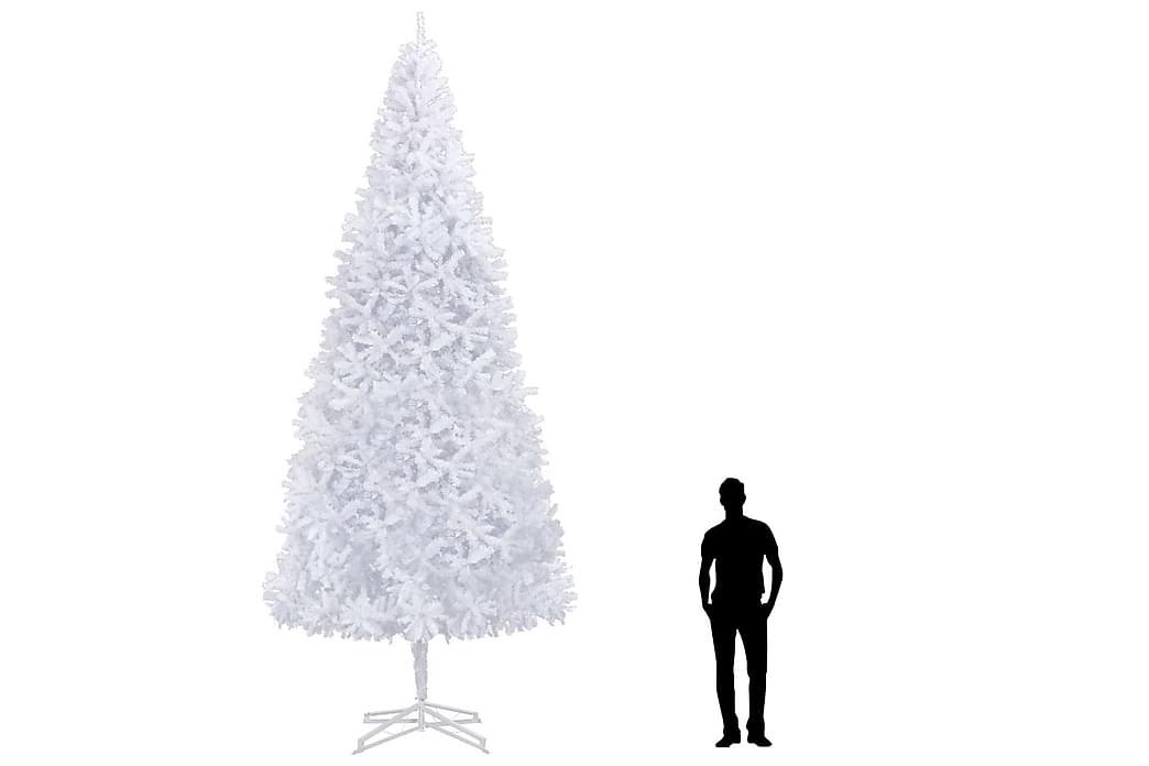 Plastgran 500 cm vit - Vit - Inredning - Dekoration - Julpynt & juldekoration