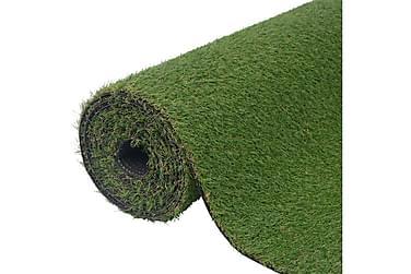 Konstgräsmatta 1,5x10 m/20-25 mm grön