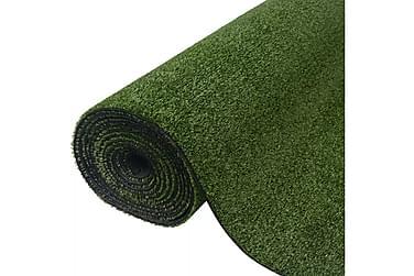 Konstgräsmatta 1x5 m/7-9 mm grön
