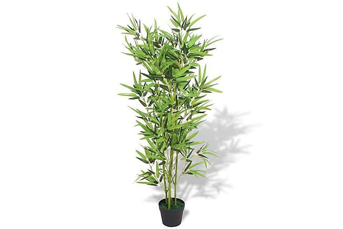 Konstväxt Bambu med kruka 120 cm grön - Grön - Inredning - Dekoration - Konstgjorda växter