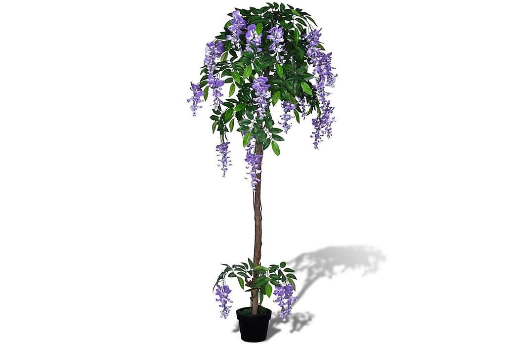 Konstväxt Blåregn med kruka 160 cm - Grön - Inredning - Dekoration - Konstgjorda växter