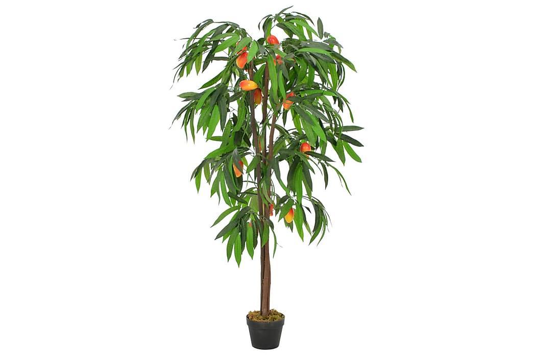 Konstväxt Mangoträd med kruka 150 cm grön - Grön - Inredning - Dekoration - Konstgjorda växter