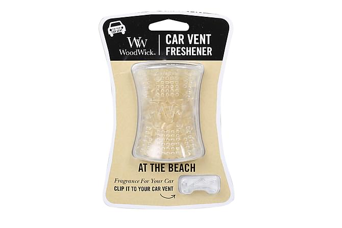 Doftljus Car Vent At The Beach Vit - WoodWick - Inredning - Dekoration - Doftljus & rumsdofter
