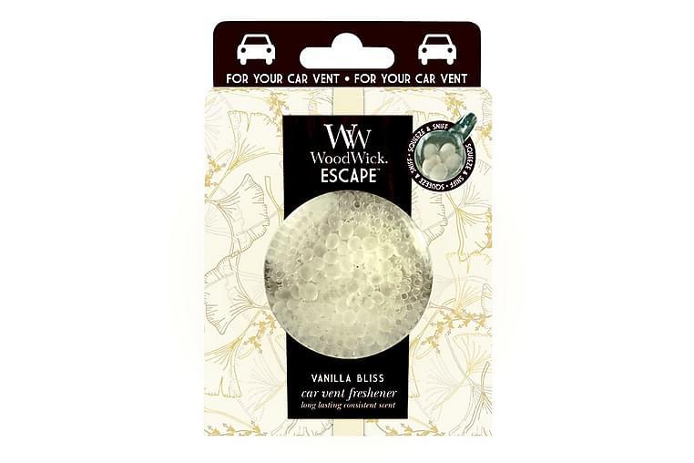 Doftljus Car Vent Clip Vanilla Bliss Vit - WoodWick - Inredning - Dekoration - Doftljus & rumsdofter