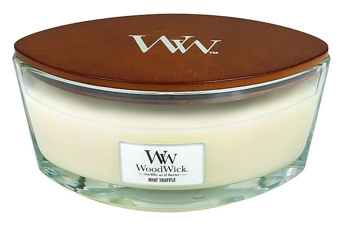 Doftljus Ellipse Mint Truffle Vit - WoodWick - Inredning - Dekoration - Doftljus & rumsdofter