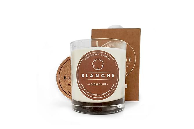 Doftljus Medium Coconut Lime Vit - Blanche - Inredning - Dekoration - Doftljus & rumsdofter