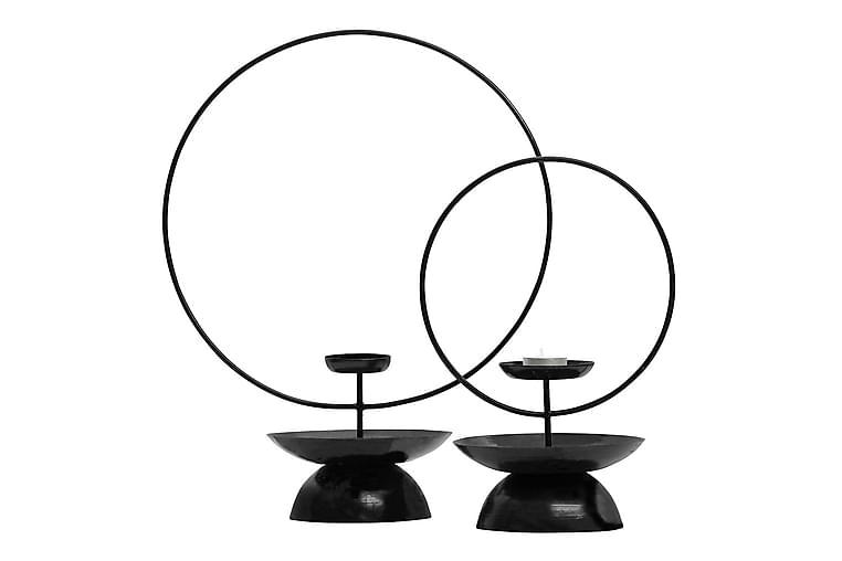 Ljusstake Answer 43 cm - Järn/Svart - Inredning - Dekoration - Ljusstakar & ljuslyktor
