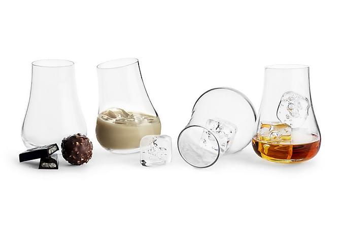 Club Avecglas med rundad botten 4-pack - Sagaform - Inredning - Husgeråd & kökstillbehör - Glas