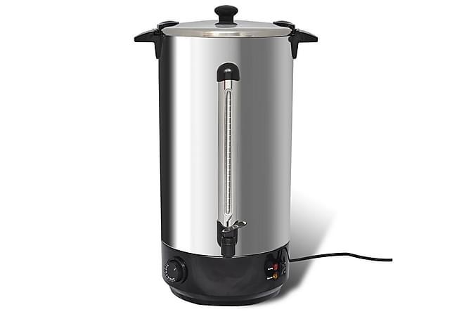 Glöggvärmare/vattenkokare 25 L - Svart Silver - Inredning - Husgeråd & kökstillbehör - Köksredskap