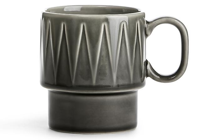 Coffee & More kaffemugg grå - Sagaform - Inredning - Husgeråd & kökstillbehör - Muggar & koppar