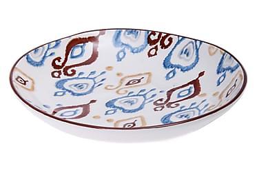 Tallrik Kosova 6-pack 22 cm Keramik