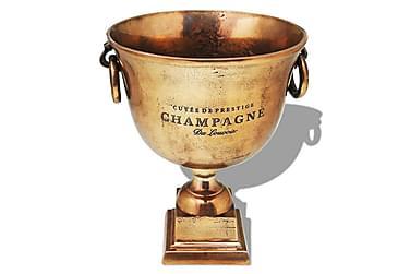 Pokal champagnekylare koppar brun