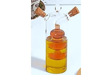 Olja- och vinägerflaska Kosova 5 cm Glas