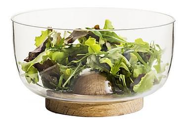 Serveringsskål Nature Liten Glas/Ek