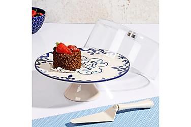 Tårtfat Kosova med Lock 27 cm Runt Keramik