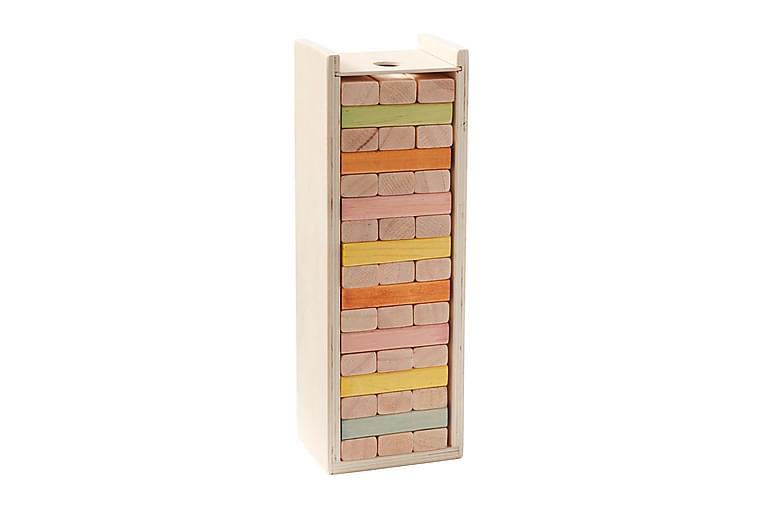 Byggstavar trälåda - Kids Concept - Inredning - Inredning barnrum - Dekoration barnrum