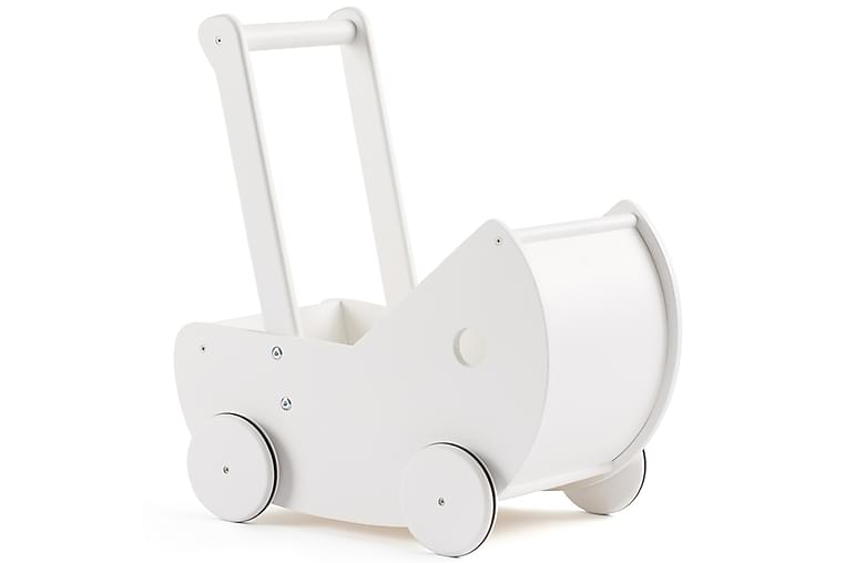Dockvagn Vit - Kids Concept - Inredning - Inredning barnrum - Dekoration barnrum