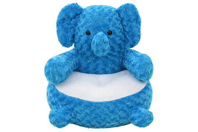 Gosedjur elefant plysch blå - Blå - Inredning - Inredning barnrum - Dekoration barnrum