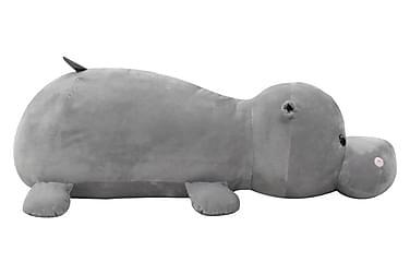 Gosedjur flodhäst plysch grå