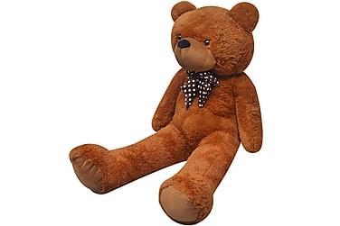 Nallebjörn i brun plysch 260 cm