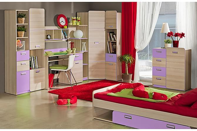Sovrumsset barn Lorento - Violett - Inredning - Inredning barnrum - Förvaring till barnrum