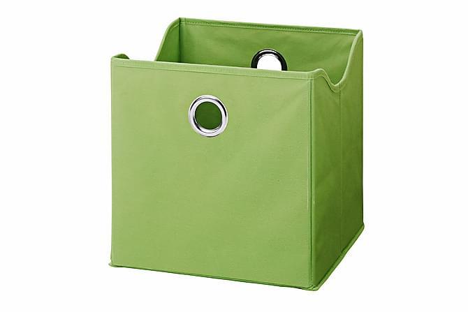 9-pack Boxar Grön Textil - Grön - Inredning - Inredning barnrum - Leksaksförvaring