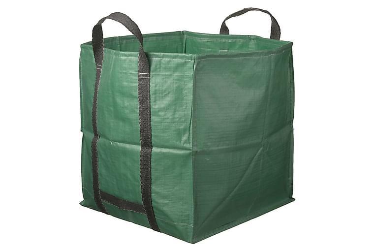 Nature Trädgårdsavfallspåse fyrkantig grön 325 L 6072401 - Inredning - Krukor & vaser - Krukfat