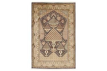 Orientalisk Silkesmatta Kashmir 126x191