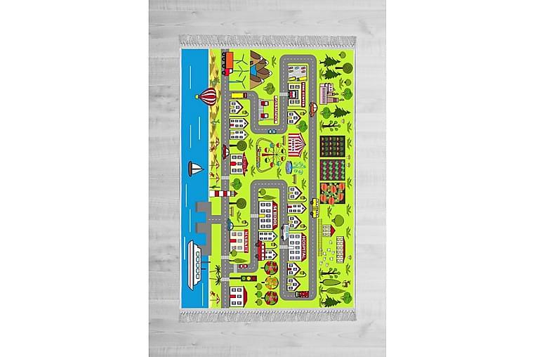 Barnmatta Welshpool 160x230 cm - Flerfärgad - Inredning - Mattor - Barnmattor