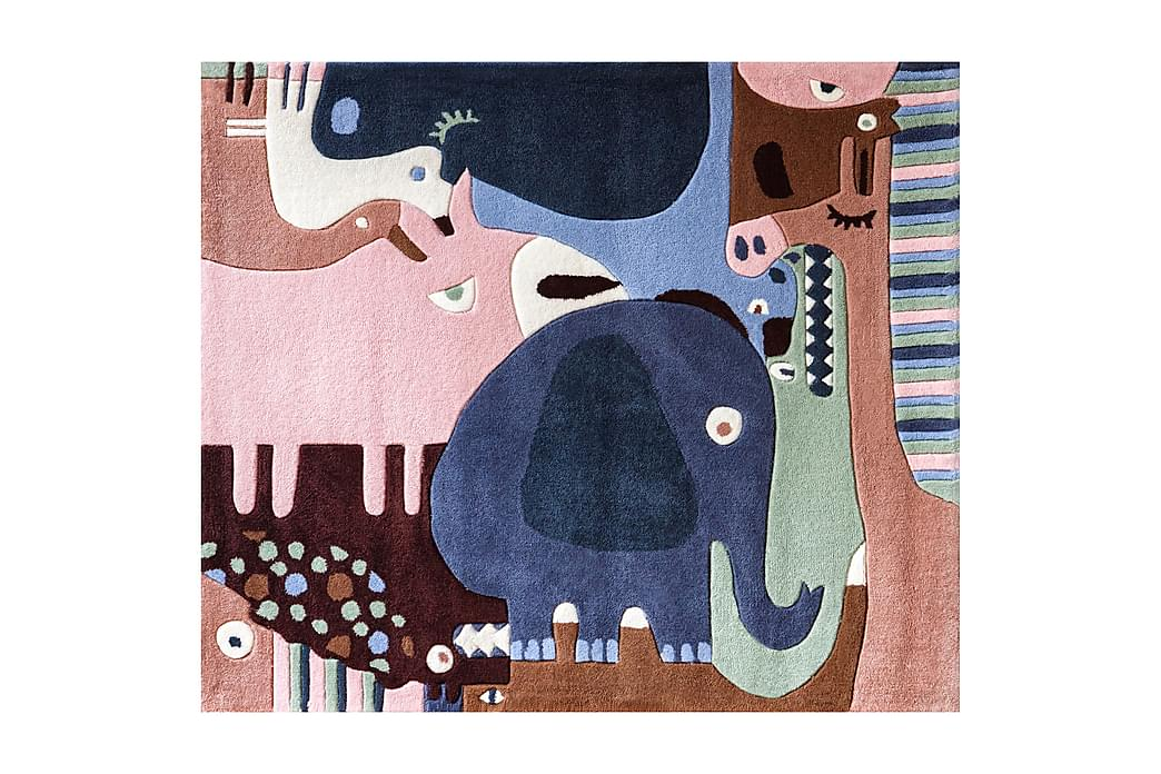 Matta Kid's Puzzle Animals Flerfärgad - AFK Living - Inredning - Mattor - Barnmattor