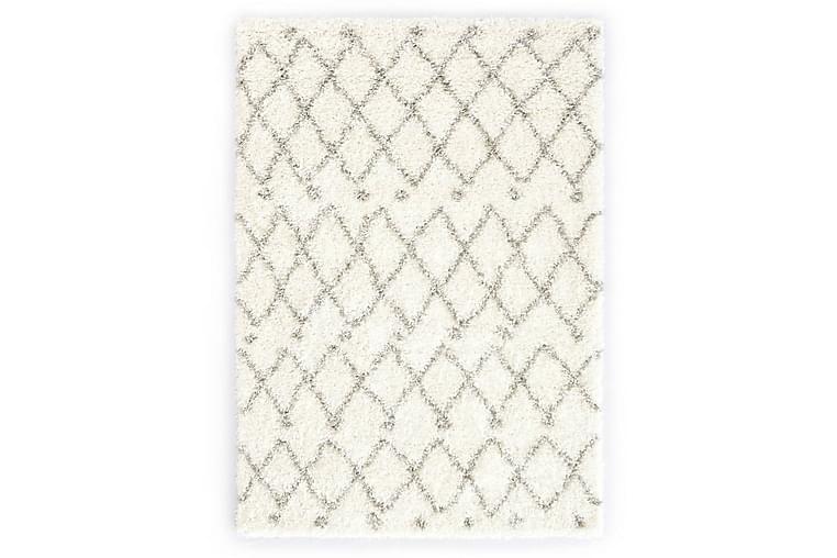 Berbermatta långhårig PP beige och sand 140x200 cm - Beige - Inredning - Mattor