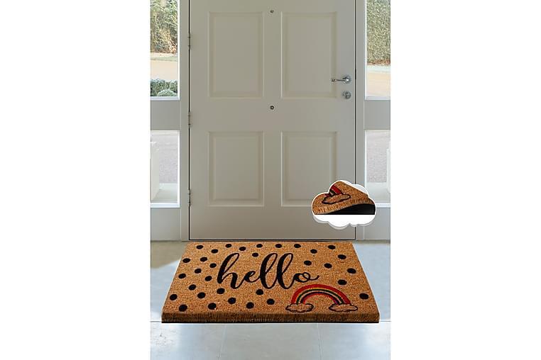 Dörrmatta Chilai 40x60 cm - PVC/Multifärgad - Inredning - Mattor - Dörrmatta & entrématta
