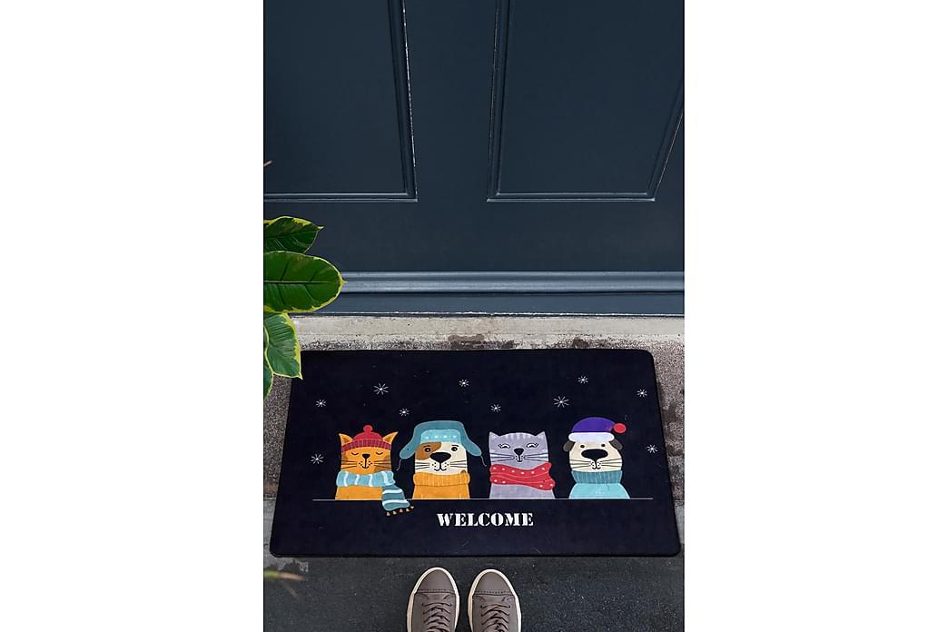 Dörrmatta Chilai 45x70 cm - PVC/Multifärgad - Inredning - Mattor - Dörrmatta & entrématta
