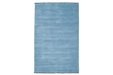 Handloom fringes - Ljusblå matta 100x160 Modern Matta