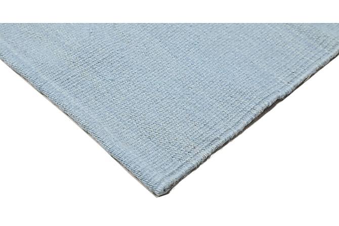 Matta Kelim Loom 140x200 - Blå - Inredning - Mattor - Enfärgade mattor