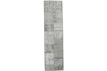 Gångmatta Black & White 80x300 Stor Modern