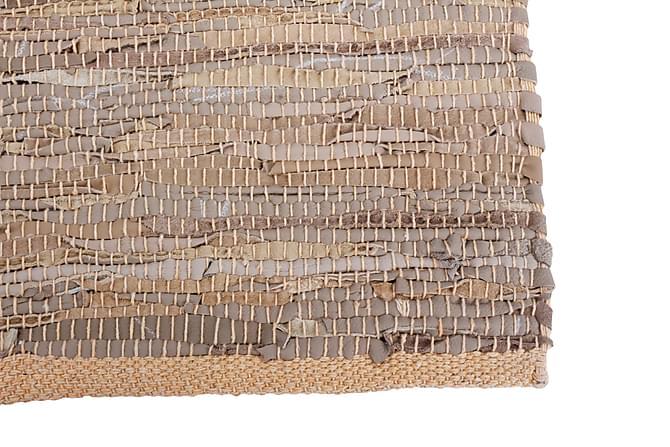 Lädermatta Recherche 70x240 Läder - Kamel|Beige - Inredning - Mattor - Gångmattor
