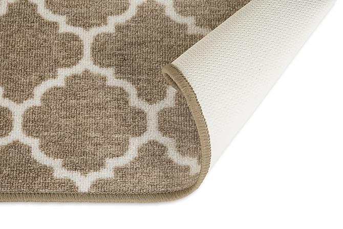 Gummerad Rio 133x190 - Beige - Inredning - Mattor - Gummerade mattor