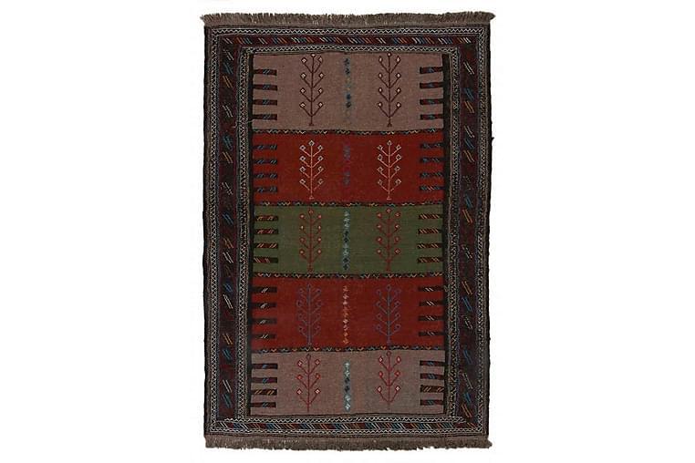 Handknuten Exklusiv Persisk Nålmatta 96x171 cm Kelim - Flerfärgad - Inredning - Mattor - Kelimmattor