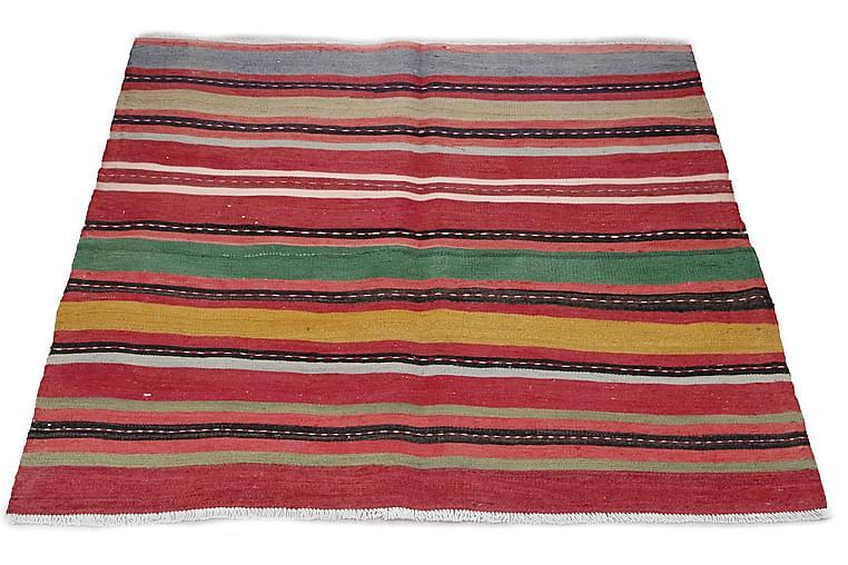 Handknuten Persisk Matta 156x170 cm Kelim - Flerfärgad - Inredning - Mattor - Kelimmattor