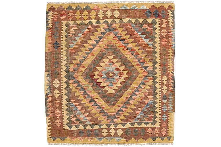 Orientalisk Kelimmatta Afghan 100x111