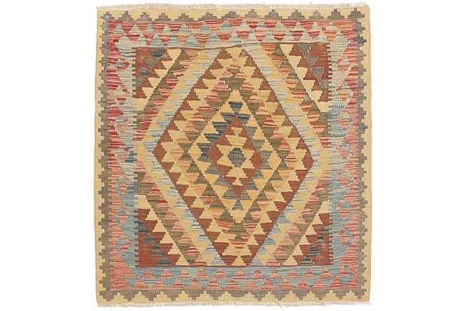 Orientalisk Kelimmatta Afghan 92x97 - Flerfärgad - Inredning - Mattor - Kelimmattor