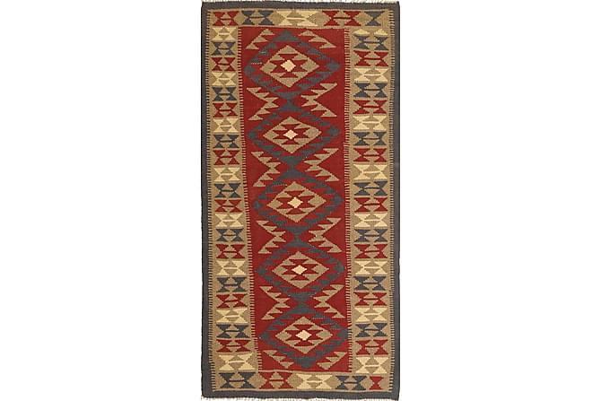 Orientalisk Kelimmatta Maimane 101x210 - Flerfärgad - Inredning - Mattor - Kelimmattor