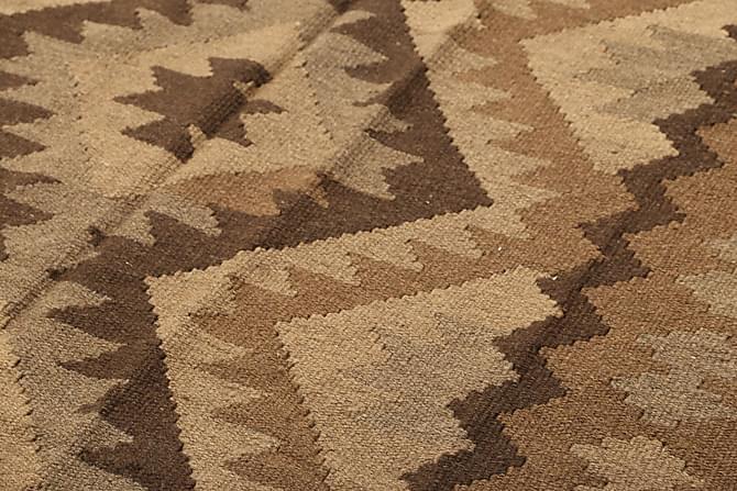 Stor Kelimmatta Maimane 190x290 - Brun - Inredning - Mattor - Kelimmattor