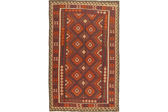 Stor Kelimmatta Maimane 192x300 - Brun Orange - Inredning - Mattor - Kelimmattor